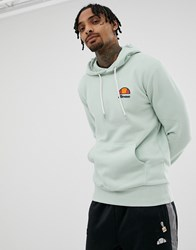 Ellesse Toce Hoodie With Small Logo In Green