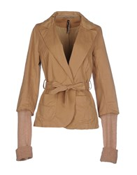 Manila Grace Suits And Jackets Blazers Women Skin Color