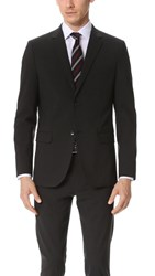 Theory Wellar Suit Jacket Dark Charcoal