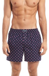 Polo Ralph Lauren Men's Boxer Shorts Cruise Navy Polka Dot