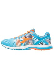 Diadora Mythos Racer Evo 2 Neutral Running Shoes Fluo Cyan Blue Fluo Orange