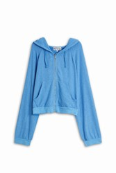 Wildfox Couture Hideout Hoodie Blue