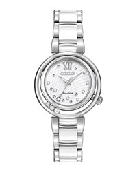 Citizen 30Mm Sunrise Bracelet Watch Silver