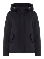 Gant Lightweight Showerproof Hooded Jacket Navy