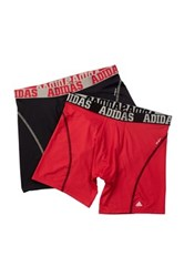 Adidas Sport Boxer Brief Pack Of 2 Black