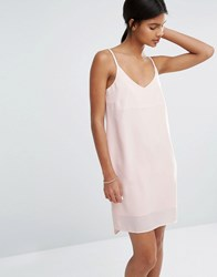 Vero Moda Cami Slip Dress Cream Tan