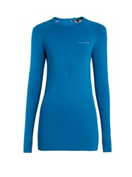 Falke Maximum Warm Long Sleeved Performance T Shirt Blue