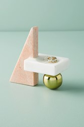 Anthropologie Totemic Trinket Stand White
