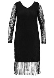 Junarose Jrbovie Cocktail Dress Party Dress Black