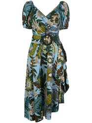 Sachin Babi And Floral Belted Dress 60