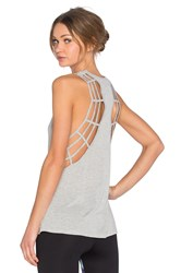 Koral Activewear Web Tank Gray