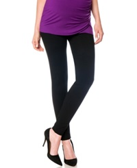 A Pea In The Pod Maternity Skinny Ponte Pants Black
