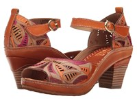 Spring Step Avelle Camel Women's Shoes Tan