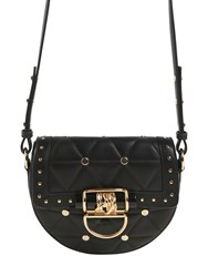 Balmain Small Quilted Leather Bag W Studs