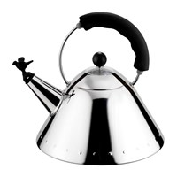 Alessi Bird Whistle Kettle Black