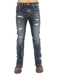 Cult Of Individuality Stilt Skinny Denim Jeans Tainted