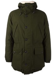 Rossignol Padded Lining Down Coat Green