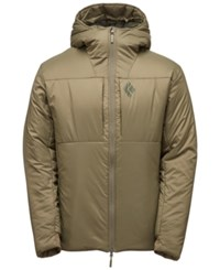 Black Diamond Stance Belay Parka From Eastern Mountain Sports Burnt Olive