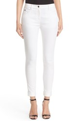 St. John Women's Collection Bardot Slim Capri Jeans