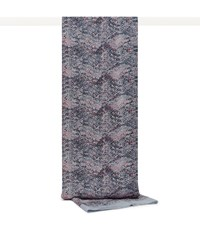 Reiss Terri Printed Scarf In Grey Blue Pink Grey Blue Pink