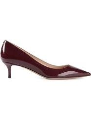 Valentino Garavani Varnished Pumps Red
