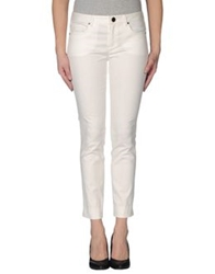 Elie Tahari Casual Pants White