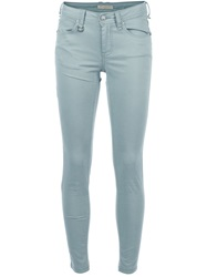 Burberry Brit Cropped Skinny Jean Green