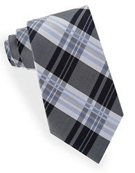 Lord And Taylor James Plaid Tie Black