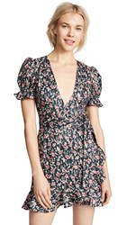 Lioness Tell Me Lies Dress Large Floral