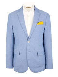 Gibson N Aoxford Button Blazer Blue
