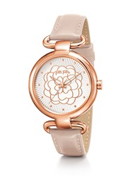 Folli Follie Santorini Flower Classy Light Pink Watch