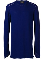 Lost And Found Ria Dunn Crew Neck Sweater Blue