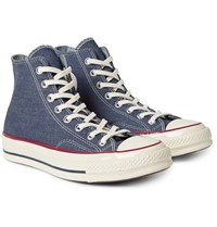 Converse 1970S Chuck Taylor All Star Denim High Top Sneakers Mid Denim