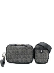 Salvatore Ferragamo Logo Belt Bag Black