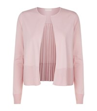 Ted Baker Jacsum Pleated Back Cardigan Pink