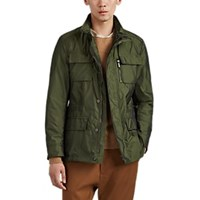 Moorer Manolo Tech Twill Field Jacket Olive
