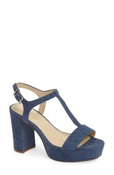 Charles By Charles David Women's Miller Platform Sandal Denim