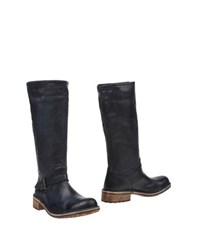 Le Crown Footwear Boots Women Dark Blue