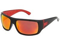 Dragon Alliance Vantage Jet Red Red Ion Sport Sunglasses Black