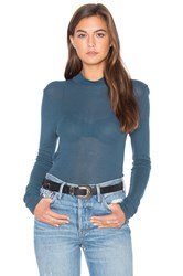 Lacausa Thin Thermal Long Sleeve Top Blue