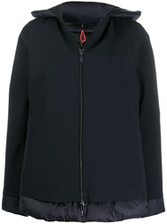 Rrd Feather Down Hooded Jacket Blue