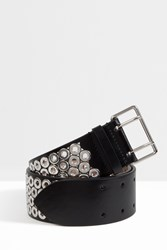 Alaia Women S Medium Eyelet Belt Boutique1 Black