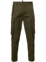 Dsquared2 Classic Cargo Trousers Green