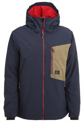 O'neill Cue Snowboard Jacket Ink Blue Dark Blue