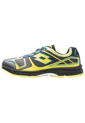 Lotto Crossride 600 V Trail Running Shoes Black Green Aca