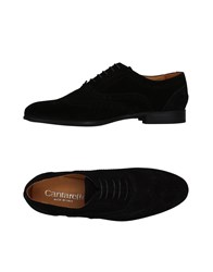 Cantarelli Lace Up Shoes Black