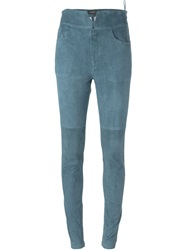 Isabel Marant Skinny Trousers Blue