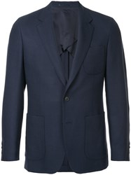Gieves And Hawkes Two Piece Suit Blue