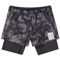 Satisfy Short Distance 8 Running Short Grey