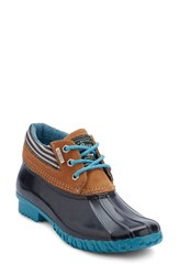 G.H. Bass Women's And Co. Dorothy Waterproof Duck Boot Blue